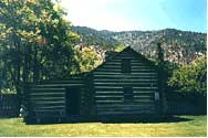 Snowshoe Thompson Cabin